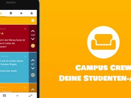 CampusCrew Studenten-App Screenshot